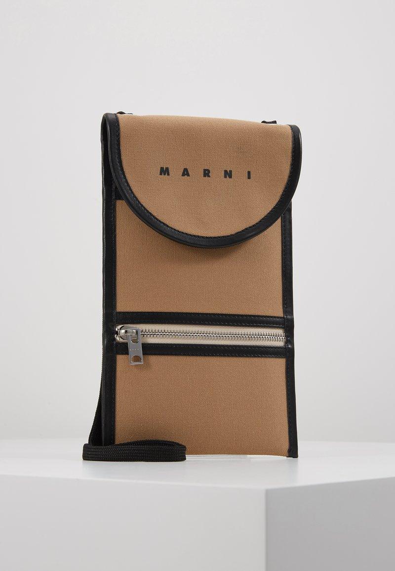 Marni - Umhängetasche - cement/black
