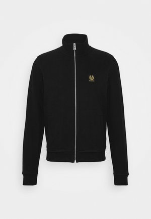 ZIP THROUGH - Sweatjacke - black