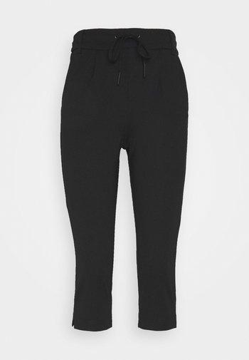 ONLPOPTRASH EASY CAPRI PANT  - Trousers - black