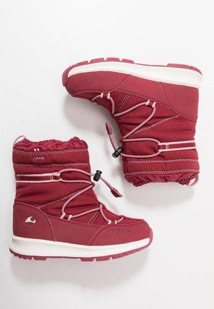 ASAK GTX - Winter boots - dark red/red