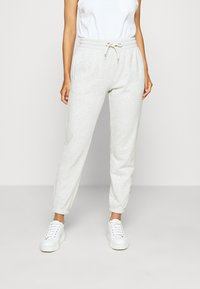 GAP - OMBRE - Tracksuit bottoms - light grey - 0