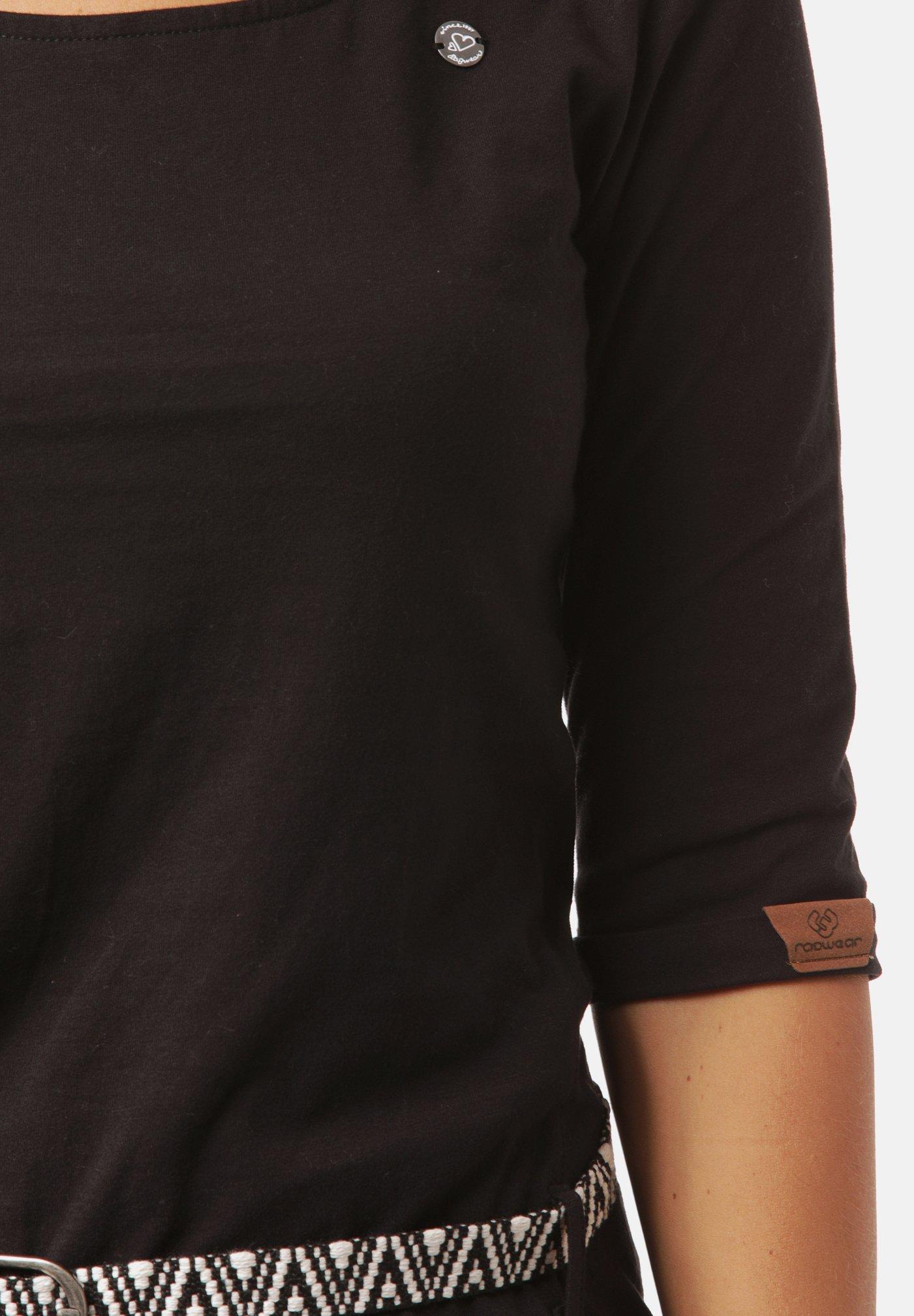 Ragwear Jerseykleid black/schwarz