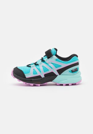 SPEEDCROSS CSWP UNISEX - Hiking shoes - scuba blu/tanager turquoise/orchid