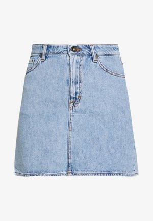 VIVA - Spódnica trapezowa - light blue
