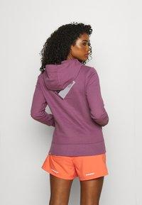 The North Face - CLIMB HOODIE - Sweatshirt - pikes purple - 2