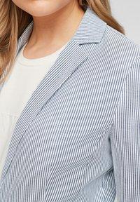 s.Oliver - Blazer - faded blue stripes - 4