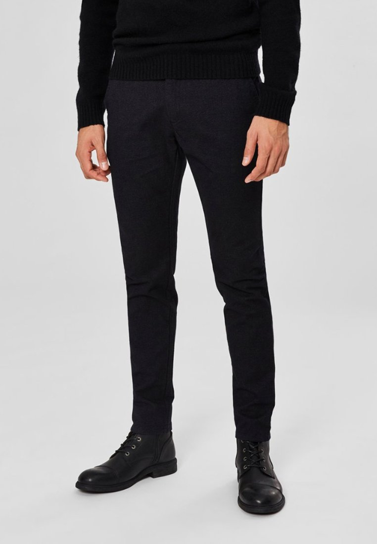 Selected Homme - Trousers - black