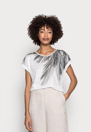 ARETHA - Print T-shirt - offwhite