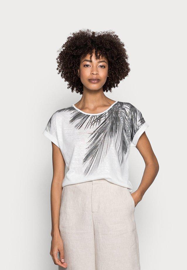 ARETHA - T-shirt con stampa - offwhite