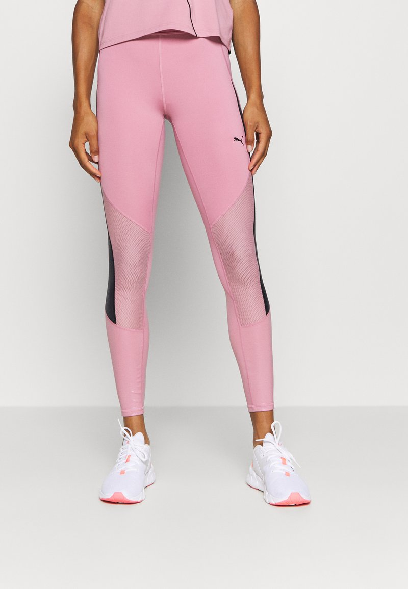 Puma - TRAIN PEARL FULL - Tights - foxglove