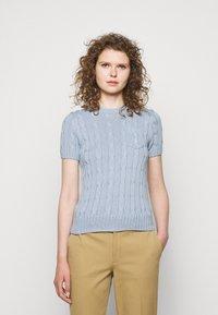 Polo Ralph Lauren - Basic T-shirt - pale blue - 0