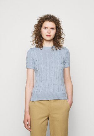 T-shirt basic - pale blue