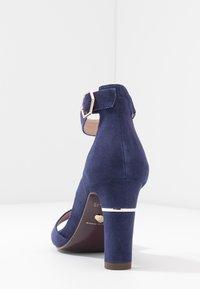Tamaris Heart & Sole - Sandály na vysokém podpatku - cobalt - 4