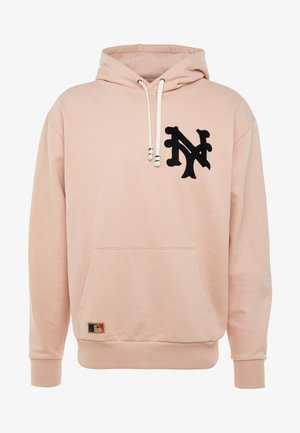 MLB VINTAGE BIG LOGO HOODY - Luvtröja - mottled pink
