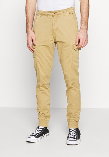 Cargo trousers - sand brown