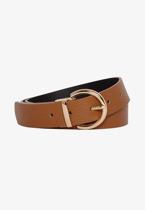 Belt business - chocolate camel