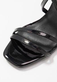 New Look - ROLLO - Sandali con tacco - black - 2