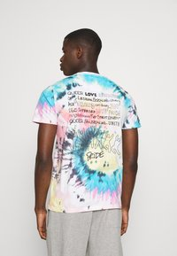 Hollister Co. - Print T-shirt - med grey - 2