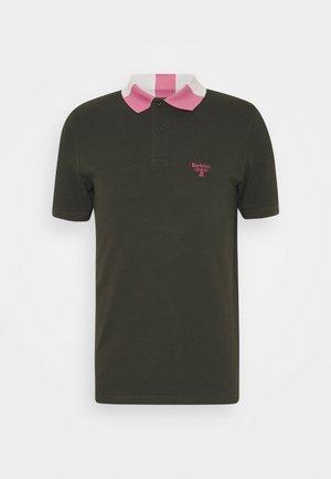 ROWAN TIPPED - Polo shirt - forest