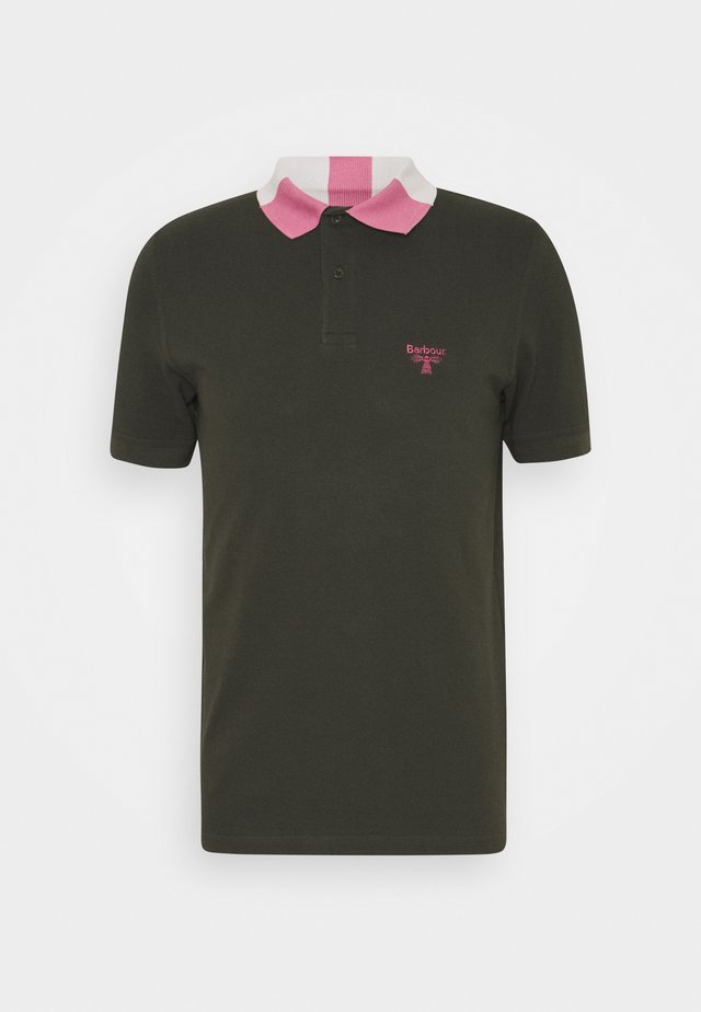 ROWAN TIPPED - Poloshirts - forest