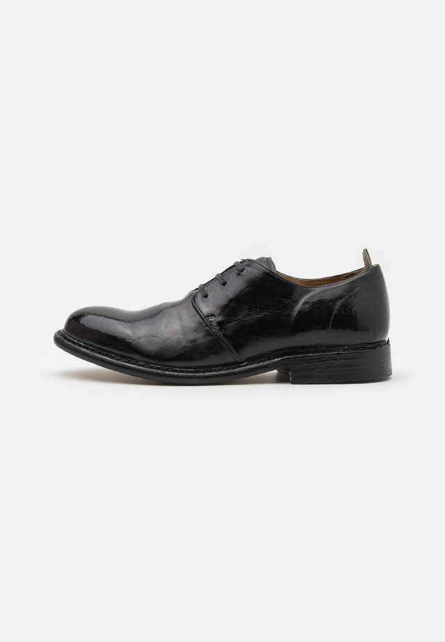 Zapatos de vestir - todi washed black