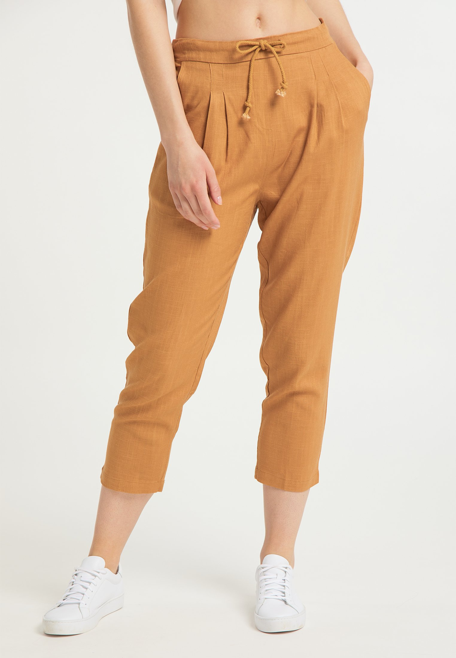 Recommend Discount Women's Clothing usha Trousers hellbraun 3mk0aTlrM