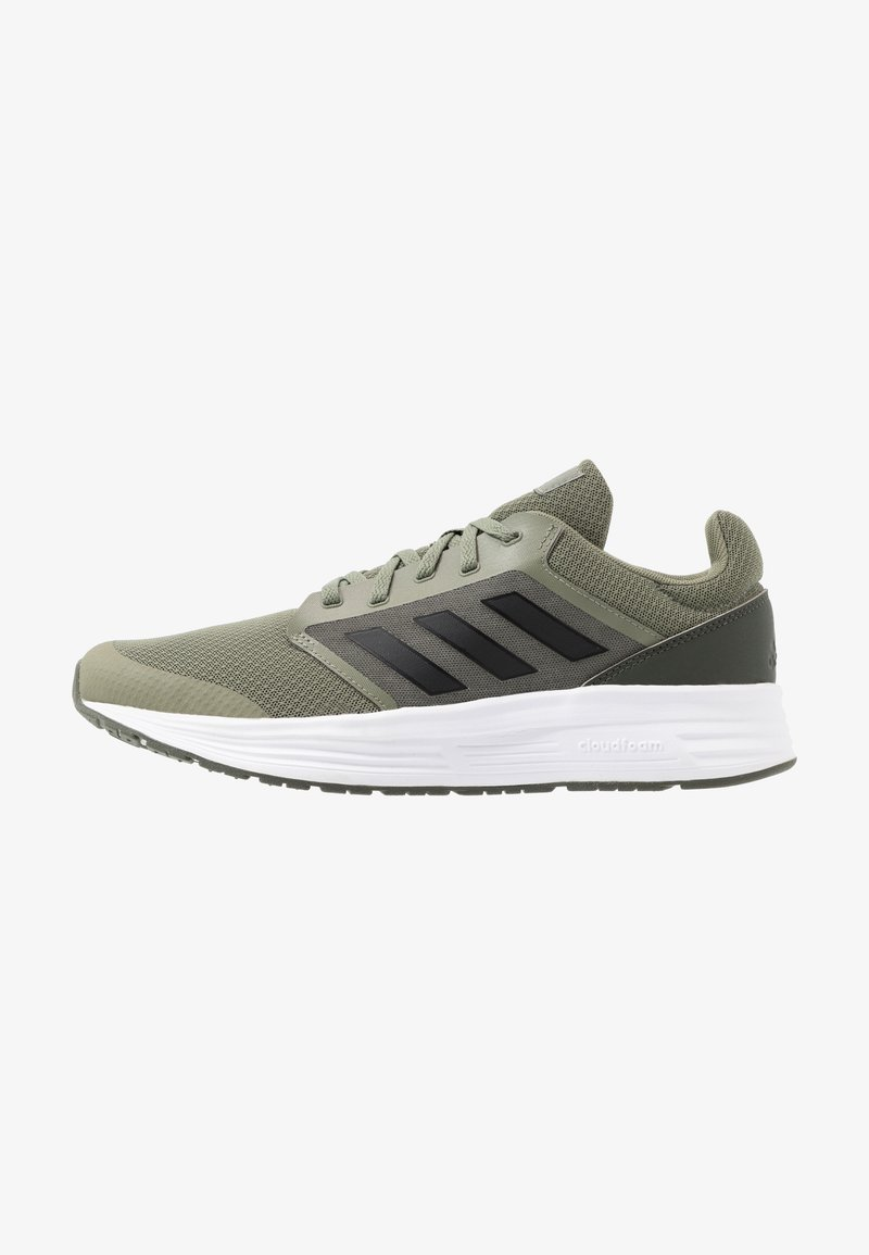 adidas Performance - GALAXY  - Zapatillas de running neutras - legend green/core black/legend earth