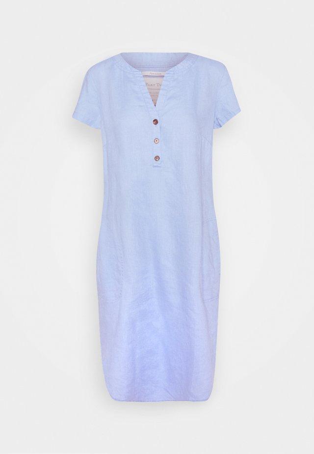 Korte jurk - vista blue