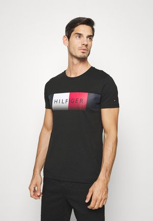 TH COOL  - T-shirt z nadrukiem - black