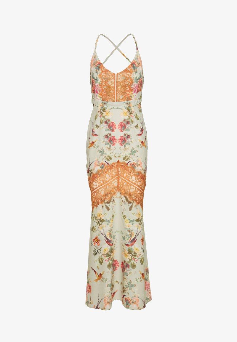 Hope & Ivy Petite - PETITE - Vestito elegante - white/orange