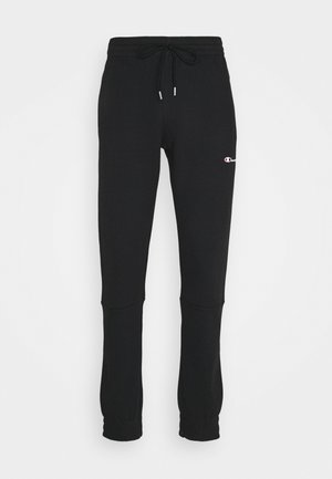 ELASTIC CUFF PANTS - Jogginghose - black