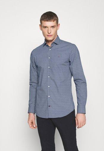 PRINT SLIM FIT - Košile - blue