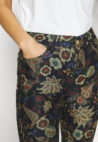Desigual - PANT CANDELA - Trousers - navy - 4