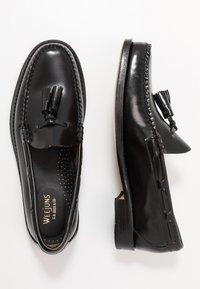 G. H. Bass & Co. - WEEJUN LARKIN TASSEL HERITAGE - Elegantní nazouvací boty - black - 1