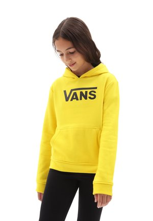 GR FLYING V HOODIE GIRLS - Hoodie - cyber yellow