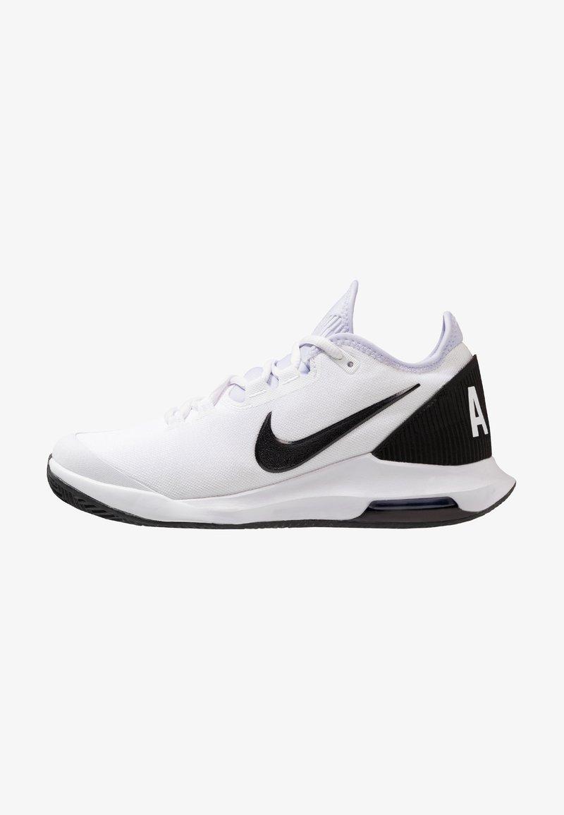 Nike Performance - AIR MAX WILDCARD CLAY - Tennissko til grusbane - white/black/oxygen purple
