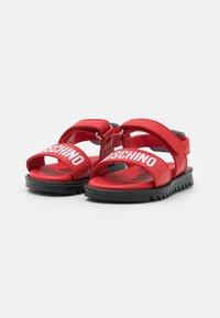 MOSCHINO - UNISEX - Sandals - red - 1