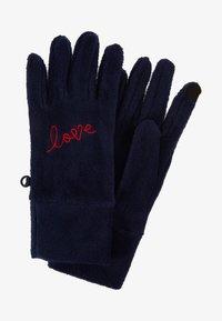 GAP - GIRL LOVE - Rękawiczki pięciopalcowe - navy uniform - 0