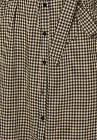 Freequent - Shirt dress - beige/black - 2