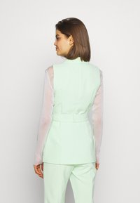 4th & Reckless - JETT JACKET - Kamizelka - mint - 2