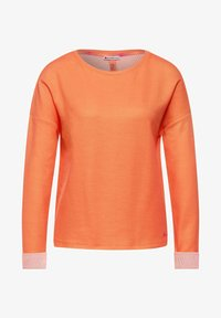 Street One - Long sleeved top - orange - 0