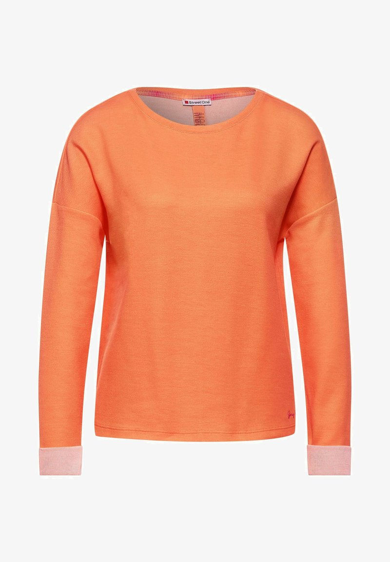 Street One - Long sleeved top - orange
