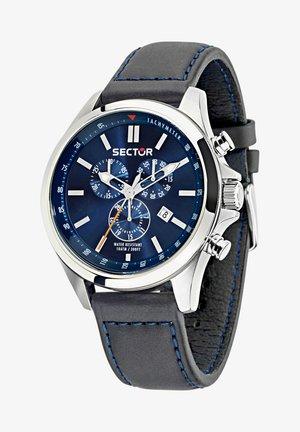 Chronograph watch - blau/schwarz