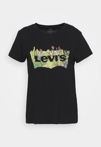 Levi's® - THE PERFECT TEE - T-shirt con stampa - black - 3