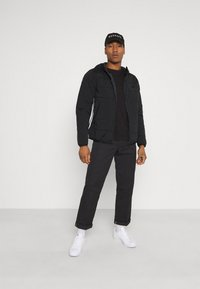 adidas Originals - HOODY - Light jacket - black - 1