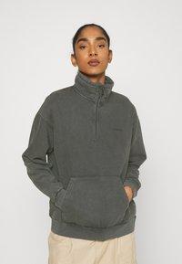 Carhartt WIP - MOSBY SCRIPT HIGHNECK - Sweatshirt - black - 0