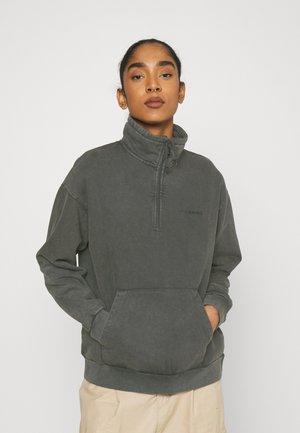MOSBY SCRIPT HIGHNECK - Sweatshirt - black