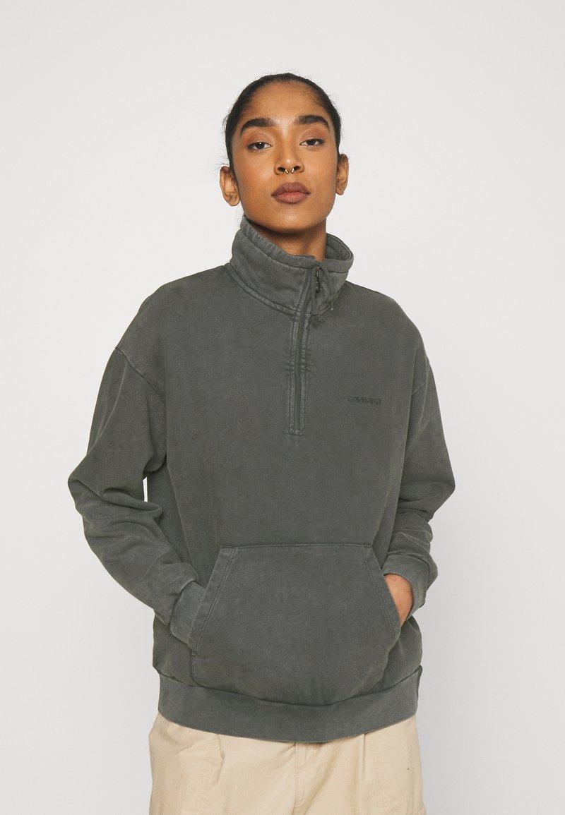 Carhartt WIP - MOSBY SCRIPT HIGHNECK - Sweatshirt - black