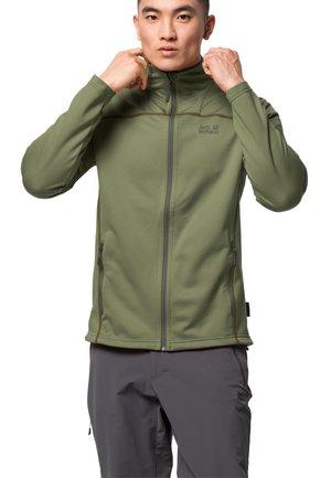 HORIZON - Fleece jacket - light moss
