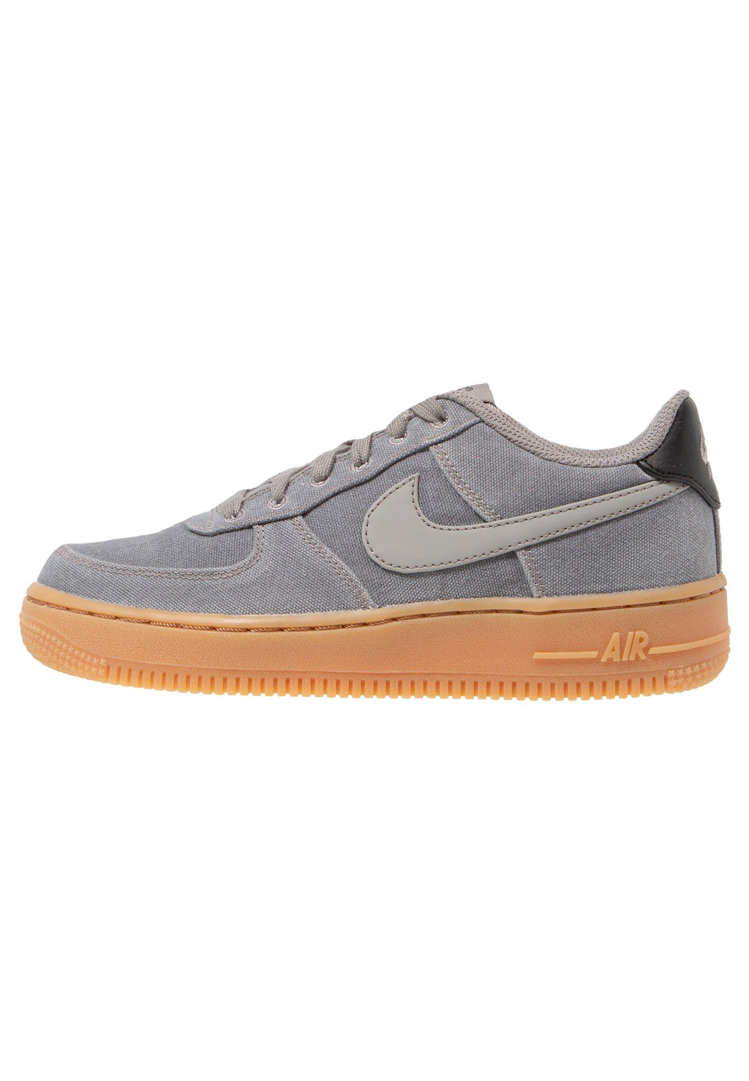 AIR FORCE 1 LV8 STYLE - Sneakers basse - flat pewter/medium brown